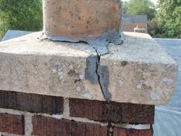 cracked chimney